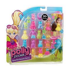 Polly Pocket® Beach Party Large Fashion Pack - Shop.Mattel.com