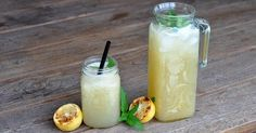 Grilled Lemonade - Powered by Time To Eat, Pickles, Lemonade, Cantaloupe, Cucumber, Grilling, Bbq, Cocktails, Fruit