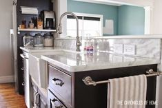 The Chronicles of Home: Kitchen Part 1 - Counter, Sink, & Faucet