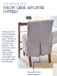8 Fabulous Tips: Upholstery Fabric Tweed upholstery diy apartment therapy. Parsons Chair Slipcovers, Parsons Chairs, Slipcover Chair, Funky Furniture, Furniture Plans, Patterned Chair, Chaise Bar, Furniture Upholstery, Upholstery Repair