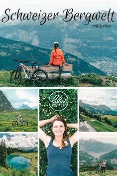 """Biken – das ist ja für viele nicht nur ein Hobby, sondern eine Lebenseinstellung. Ich, als ziemliche Anfängerin, durfte eine Woche lang Biken in Graubünden und reinschnuppern in Bike Parks mit FLOWlines, Singletrails und Pumptracks. Es war eine Reise in eine """"andere Welt"""", die mir als Sonst-Wanderer sehr gut gefallen hat. Denn zurück zur Natur geht es am besten mit zwei Beinen oder auf zwei Rädern. Parks, Reisen In Europa, Switzerland, To Go, Lily, Adventure, World, Bergen, Movie Posters"""