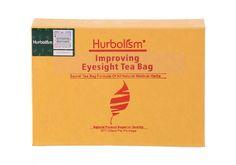 Hurbolism Improving Eyesight Tea Bag Formula of Herbal Ingredients to Cure Cataract, Decrease Sight Loss, Prevent Eye Diseases