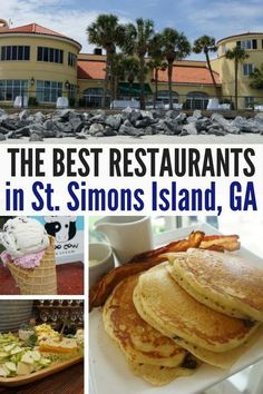 Your guide to the best restaurants in St. Here are my picks for St. Simons Island dining and where you can find the best snacks! St Simons Island Georgia, St Simon Island Ga, Jekyll Island Georgia, Georgia Islands, St Simons Island Restaurants, Jekyll Island Restaurants, Brunswick Georgia, Georgia Beaches, Island Food