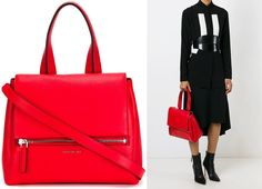 GIVENCHY Pandora Pure Tote Bag in Red Leather