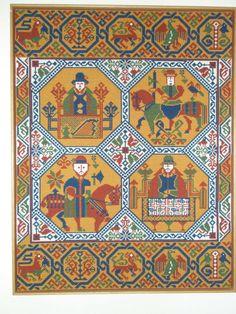 Needlepoint Stitches, Moomin, Hama Beads, Cross Stitch Embroidery, Lana, Celtic, Scandinavian, Miniatures, Tapestry