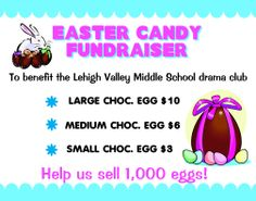 Make a Candy Sale Fundraiser Poster | School Fundraiser Project | Chocolate Sale Fundraiser Poster Ideas