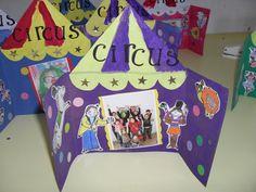 Cirque - lesptitsbricoleurss jimdo page! Carnival Crafts, Carnival Decorations, Kids Carnival, Circus Crafts Preschool, Toddler Crafts, Circus Theme, Circus Party, Summer Crafts For Kids, Art For Kids