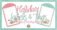 Fun Holiday Tags and Labels for those special hand made gifts!  We also have matching recipe cards so come on over to TheCottageMarket.com and download these cuties!  ENJOY