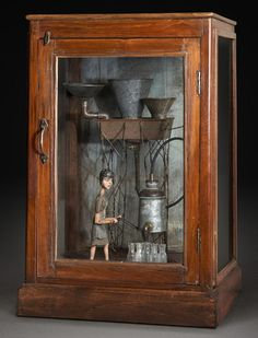 Tom Haney. Accumulation, 2008, automata, handmade electronic moving sculpture with found materials