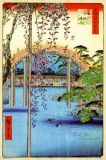 Grounds of Kameido Tenjin Shrine, Ando Hiroshige
