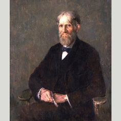 """Self-Portrait,"" Emil Carlsen, ca. 1920, oil on canvas, National Portrait Gallery, Smithsonian Institution."