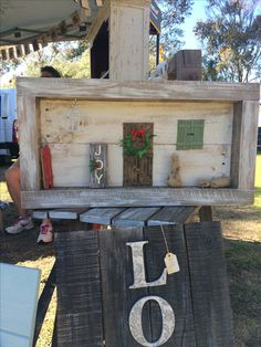 Front Porch Christmas Shadow Box from Ashford Willow