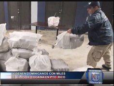 Detienen Dominicano Con Miles De Kilos De Cocaina En Puerto Rico #Video