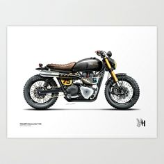 Moto 29 Art Print by Holographic Hammer - $22.88