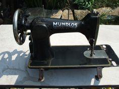 Nähmaschine Mundlos, Original Viktoria 115 ohne Gestell   eBay