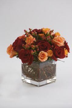 : Low Centerpieces : Reception, My Wedding Blooms