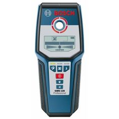 Bosch GMS 120 Wall Scanner For Detecting Metal/Wood/Pipes/Cables (120mm Detection Depth)