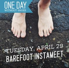 REMINDER! If you haven't yet, take 'em off and show support! #WithoutShoes
