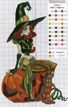 Thrilling Designing Your Own Cross Stitch Embroidery Patterns Ideas. Exhilarating Designing Your Own Cross Stitch Embroidery Patterns Ideas. Cross Stitch Fairy, Cross Stitch For Kids, Beaded Cross Stitch, Counted Cross Stitch Patterns, Cross Stitch Charts, Cross Stitch Designs, Cross Stitch Embroidery, Embroidery Patterns, Cross Stitch Witch