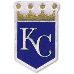 Kansas City Royals Crown MLB Baseball Team Logo Jersey Sleeve Patch