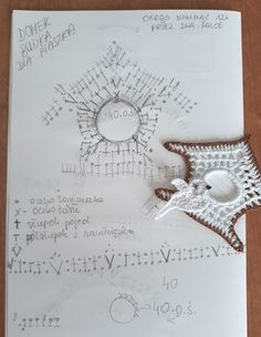 Ela Klementowicz's media content and analytics Crochet Fairy, Crochet Ball, Crochet Birds, Crochet Home, Crochet Flowers, Spiral Crochet, Freeform Crochet, Crochet Motif, Crochet Doilies