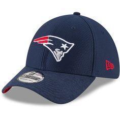 8b9bd9c5008 Men s New England Patriots New Era Navy Popped Shadow Team 39THIRTY Flex Hat