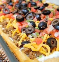 Recipe for Easy Taco Pizza