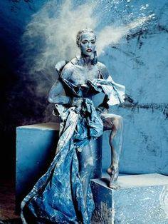 Originale vom Bodypaint Shooting - Germany's next Topmodel 2015