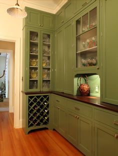 Pantry - traditional - Kitchen - New York - Lasley Brahaney Architecture + Construction