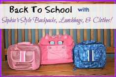 Sophia's Style lunch box giveaway 9/9