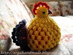 ergahandmade: Πασχαλινή κοτούλα! Easter chicken!