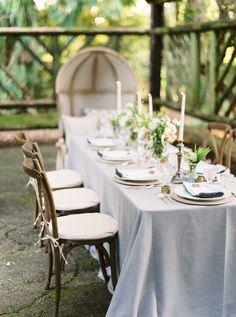 #table  Photography: Maria Lamb Photography - marialamb.co Wedding Venue: Camp Korey - campkorey.org/ Floral Design: Kaleb Norman James Design - kalebnormanjames.com
