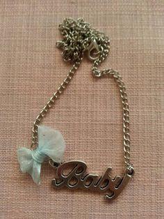 DIY Word Pendant Necklace