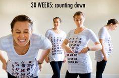 Fun Countdown baby shirt!