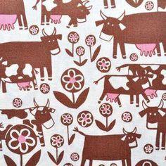 Algodon 100% diseño vaca