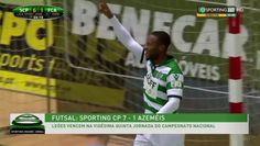 Liga SportZone Futsal - Resultado Final Sporting Clube de Portugal 7-1 Azemeis Mais um jogo mais uma goleada SPORTING SEMPRE!  Nao deixem de visitar o  blog -------» http://sporting1906clubeportugal.blogspot.pt/  inscreve-te no canal para nao perderes mais videos: http://www.dailymotion.com/susana-gomes2