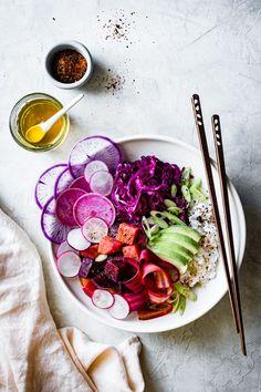 Beet Poke Bowls {vegan, gluten-free}