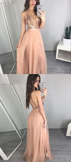 Charming Spaghetti Straps Prom Dress,Long Prom Dresses,Cheap Prom Dresses,