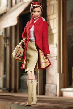 Ferrari Barbie Doll