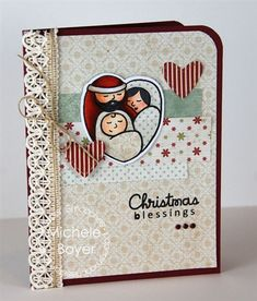 A Blessed Christmas stamp by Paper Smooches