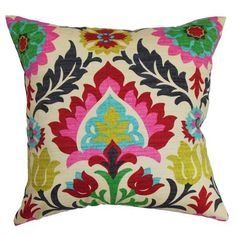 Waverly Santa Maria  Desert Flower Pillow Cover 16x16, 14x14, or 12x18