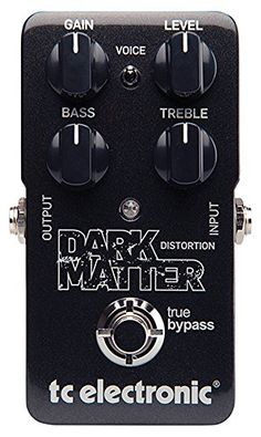 Dark Matter Distortion aims to give you that powerful super-musical roar of an early plexi - a sound that will satisfy even the pickiest players out there....