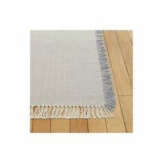 """Authentic DWR Exclusive Nodi Cotton Bathmat 2/'5/"""" x 6/'Design Within Reach"""