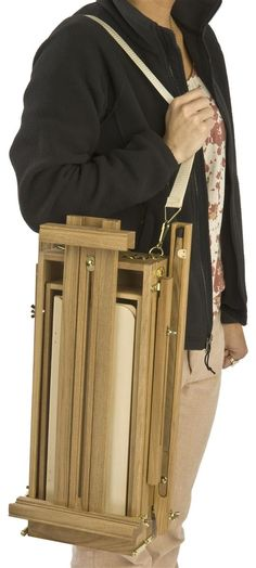 French Artist Easel | Highly Portable Art Easel With Storage Drawer