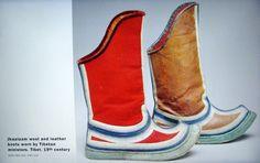 Risultati immagini per tibetan traditional shoes