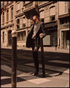 L'Officiel Paris September 2017 Laetitia Montalembert by Luc Coiffait Editorial Photography, Fashion Photography, London Photographer, Laetitia, Models Off Duty, Winter Wear, Streetwear Fashion, Parisian, Editorial Fashion