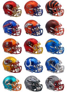 "Riddell's fashion helmets - ""Blaze"" collection - Sports Logo News - Chris Creamer's Sports Logos Community - CCSLC - SportsLogos.Net Forums"