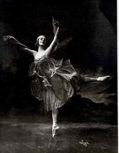 Anna Pavlovna Pavlova;  1881-1931;  The Russian ballerina Anna Pavlovna Pavlova was the most celebrated dancer of her time. Pavlova studied at the Imperial School of Ballet at the Mariinsky Theatre from 1891, joined the Imperial Ballet in 1899, and became a prima ballerina in 1906. In 1909 she went to Paris on the historic tour of the Ballets Russes. After 1913 she danced independently with her own company throughout the world.