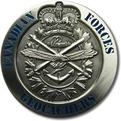 Canadian Forces Geocoin #3