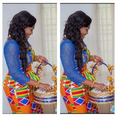 A Ghanaian bride Repost from I Do Ghana Facebook Photo Credit: Tixs Multimedia